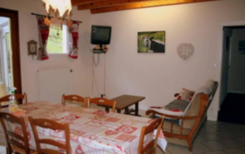 Location de vacances - Gîte à Sapois - Coin salon