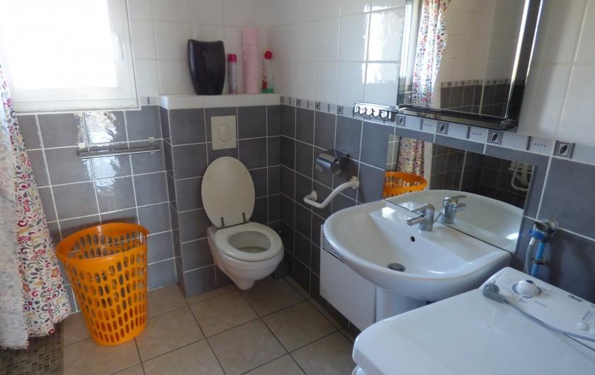 Location de vacances - Gîte à Fossé - salle de bain