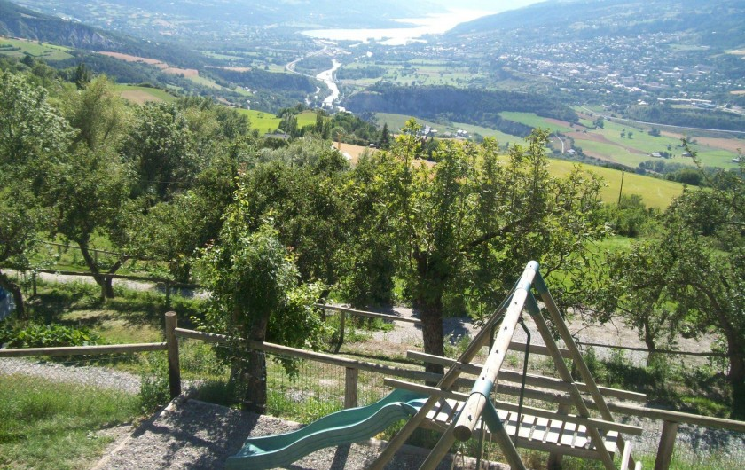 Location de vacances - Chalet à Saint-André-d'Embrun - Aire de jeux