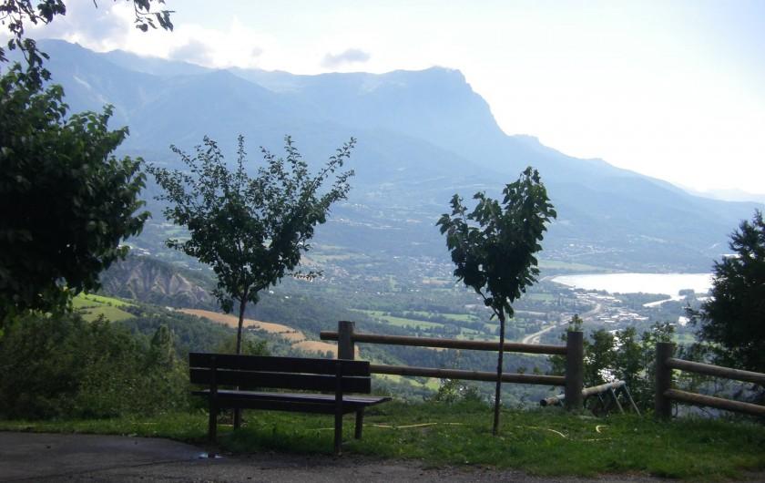 Location de vacances - Chalet à Saint-André-d'Embrun - Vue