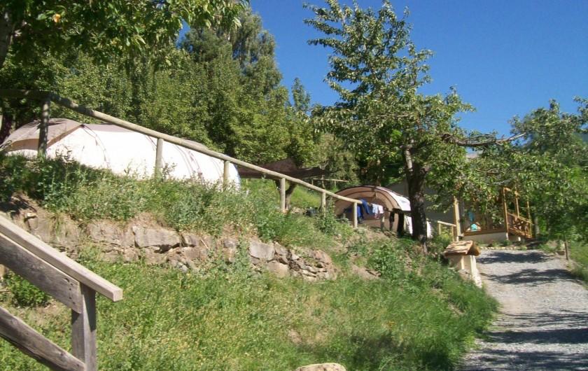 Location de vacances - Chalet à Saint-André-d'Embrun - Accès