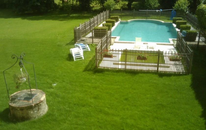 Location de vacances - Maison - Villa à Fourcès - Vue de chambre 1