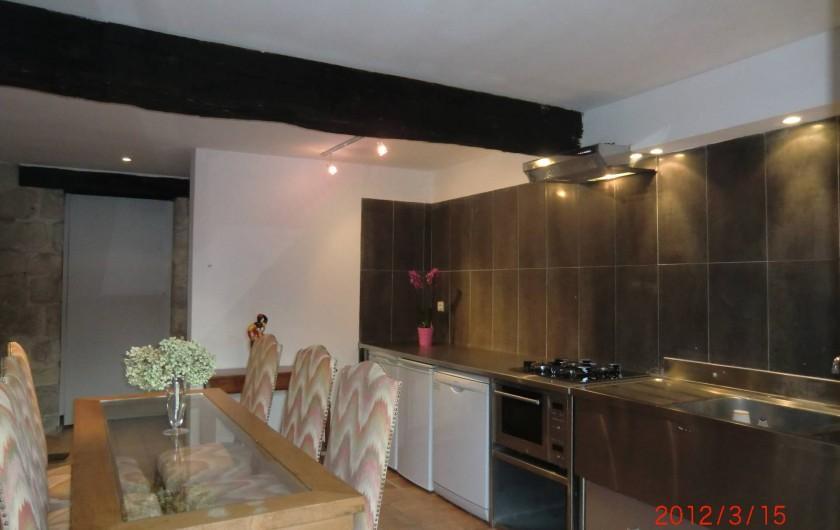 Location de vacances - Maison - Villa à Fourcès - Cuisine