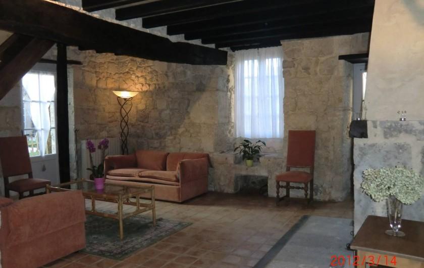 Location de vacances - Maison - Villa à Fourcès - Salon