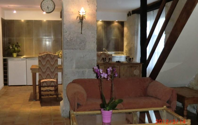 Location de vacances - Maison - Villa à Fourcès - Salon/salle à manger