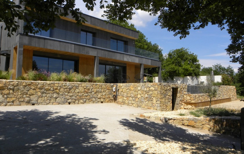 Location de vacances - Villa à Callian - Maison façade