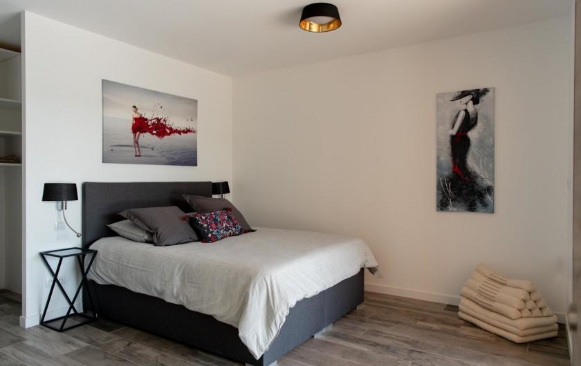 Location de vacances - Villa à Callian - Chambre parentale 1 rdc