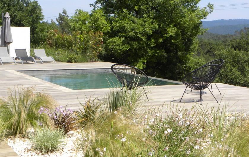 Location de vacances - Villa à Callian - Piscine