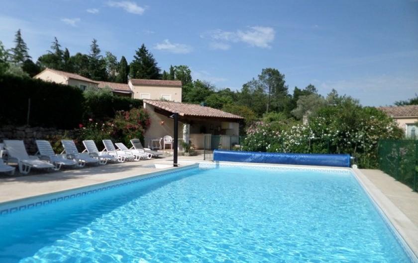 Location de vacances - Gîte à Lablachère - piscine 12x6 sécurisée