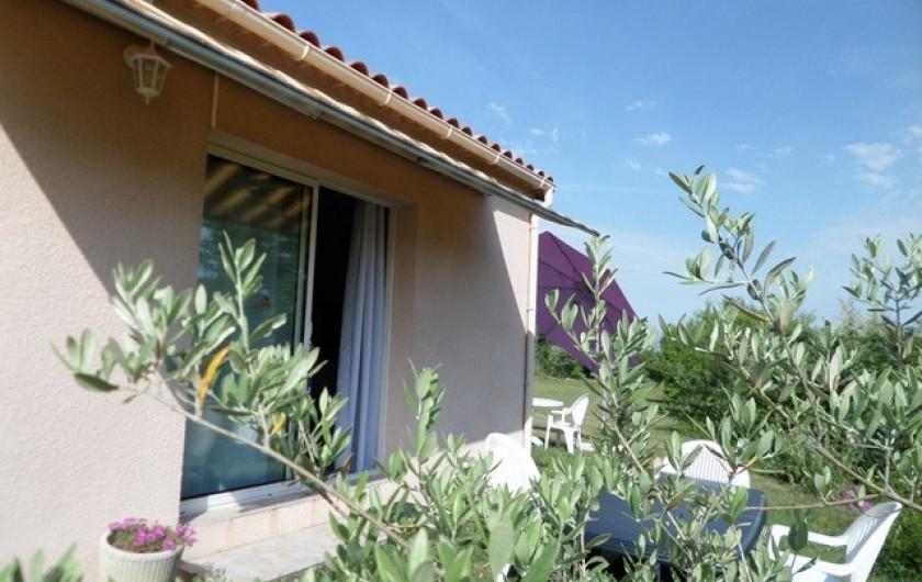 Location de vacances - Gîte à Lablachère - gite 5 pers
