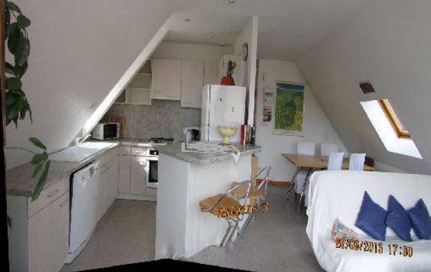 Location de vacances - Appartement à Wintzenheim - intérieur