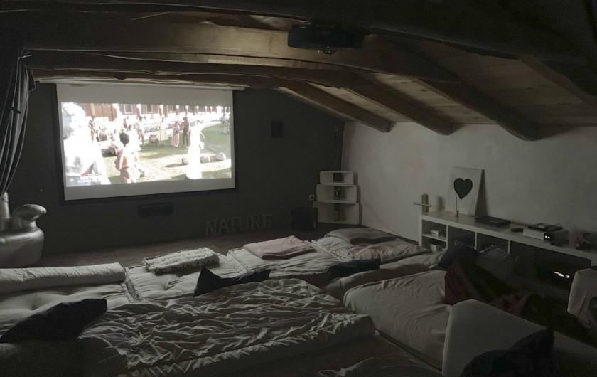 Location de vacances - Mas à Mercuer - Le Home Cinéma :)