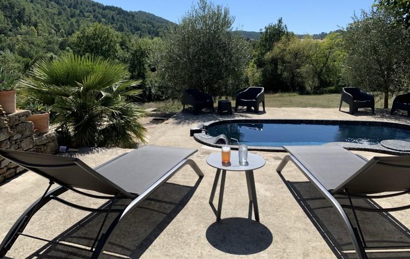 Location de vacances - Mas à Mercuer - Bienvenue en Ardèche