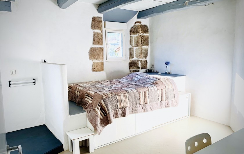 Location de vacances - Mas à Mercuer - Chambre n°1