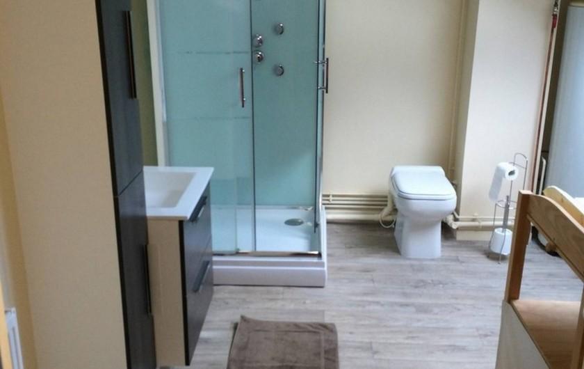 Location de vacances - Villa à Fort-Mahon-Plage - Salle d'eau étage