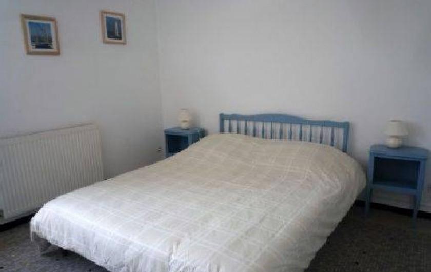Location de vacances - Maison - Villa à Saint-Gilles-Croix-de-Vie - lit 160 x 200  ou 2 lit 80  X 200
