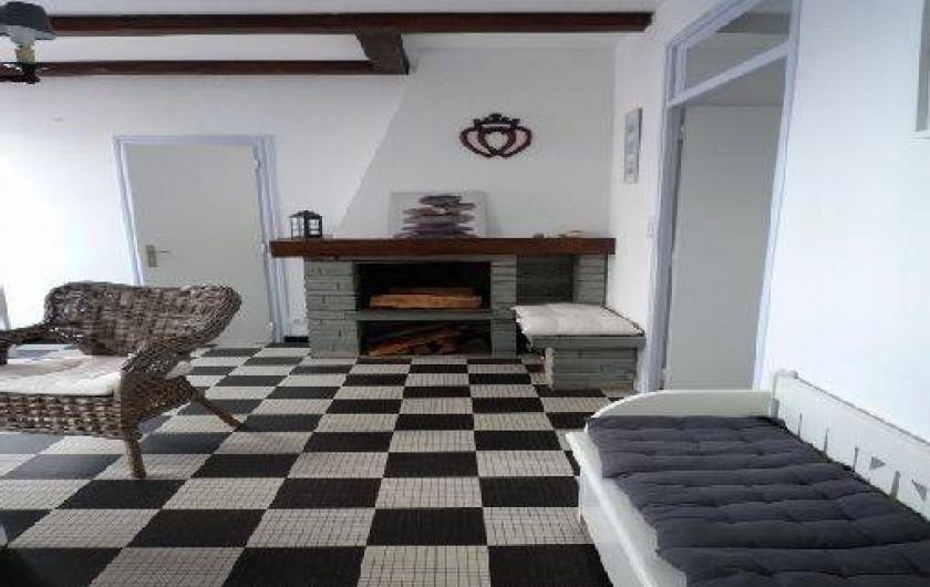 Location de vacances - Maison - Villa à Saint-Gilles-Croix-de-Vie - salon