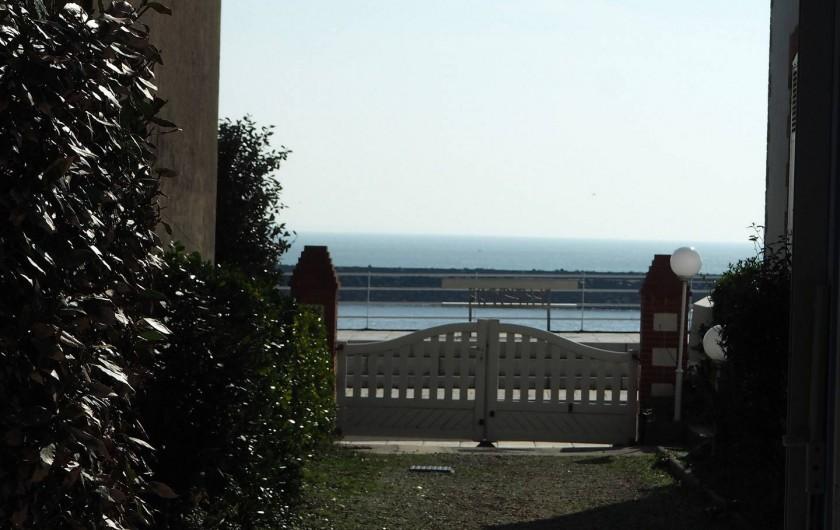 Location de vacances - Maison - Villa à Saint-Gilles-Croix-de-Vie - accès piéton plage de Boisvinet