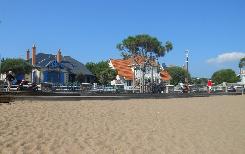 Location de vacances - Maison - Villa à Saint-Gilles-Croix-de-Vie - plage de Boisvinet