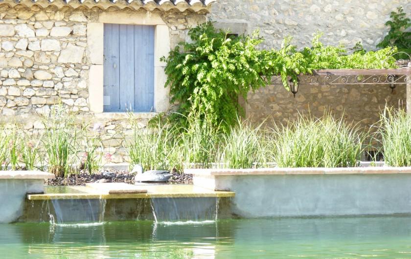 Location de vacances - Mas à Châteauneuf-du-Rhône - Le Jas des Légrémis
