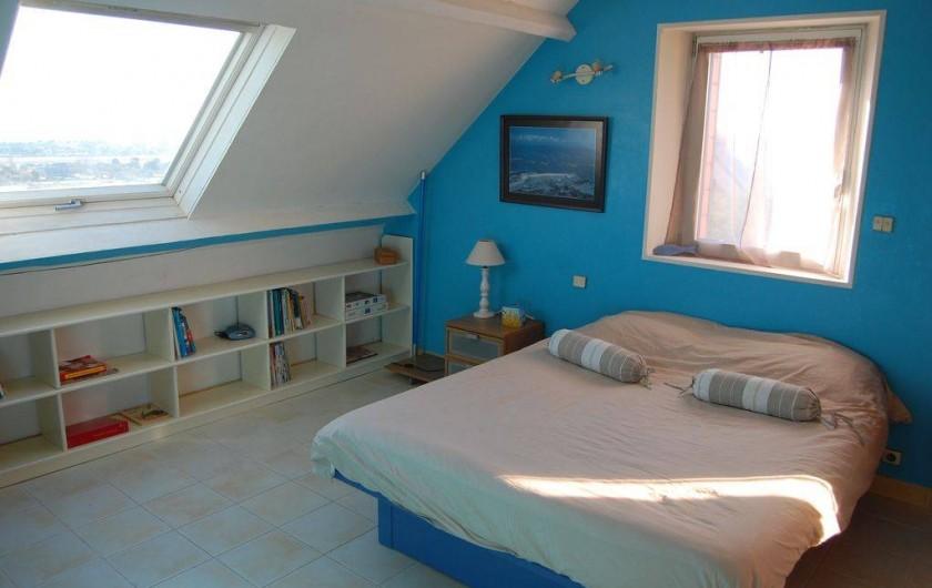 Location de vacances - Villa à Barneville-Carteret - Chambre bleue