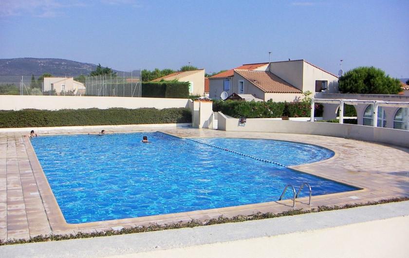 Location de vacances - Maison - Villa à Vic-la-Gardiole - La piscine