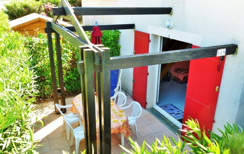 Location de vacances - Maison - Villa à Vic-la-Gardiole - 119-Maison avec 2 chambres à l'étage - la terrasse