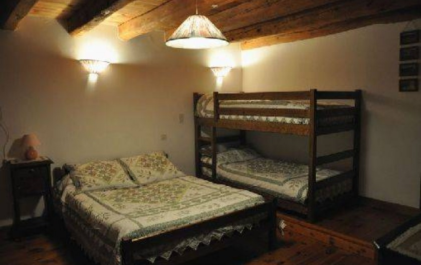Location de vacances - Gîte à La Panouse - La grande chambre