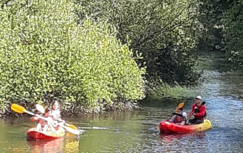 Location de vacances - Maison - Villa à Tessy-Bocage - Pratique de canoé-Kayak.