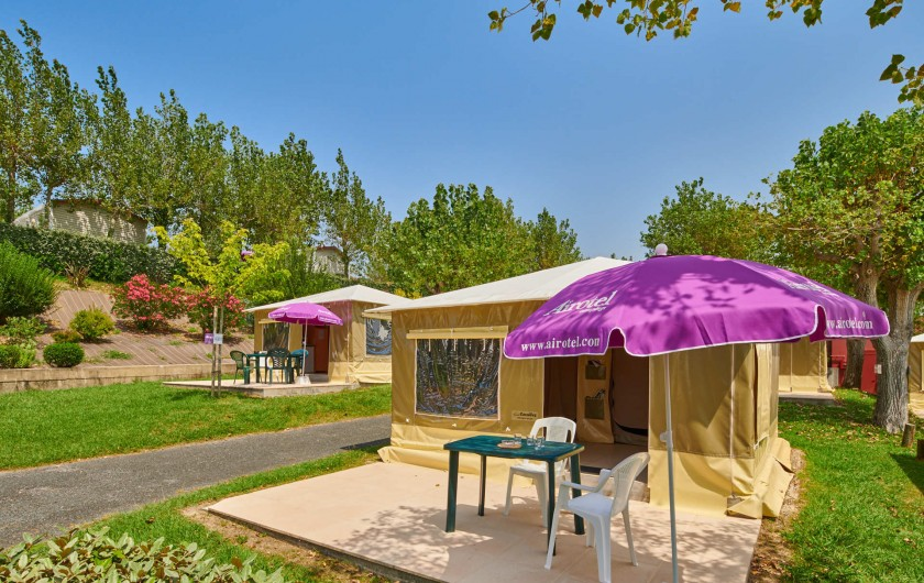Bungalows toilés - Biarritz Camping Pays Basque