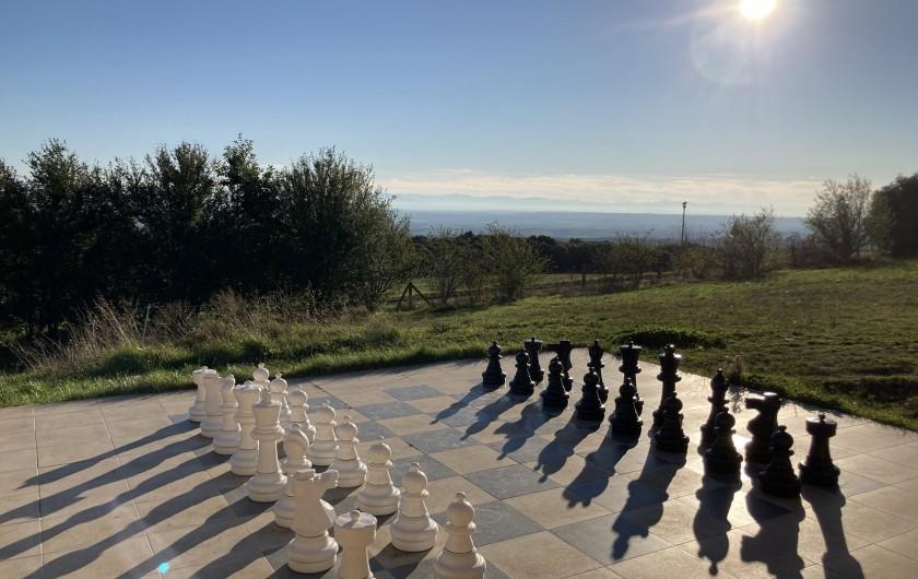 Location de vacances - Chambre d'hôtes à Saissac - jeu d'échecs