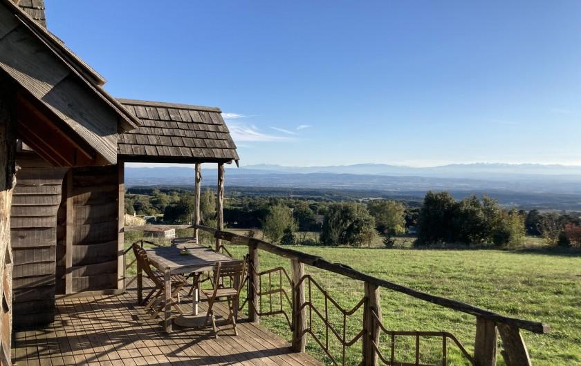 Location de vacances - Chambre d'hôtes à Saissac - La cabane du trappeur