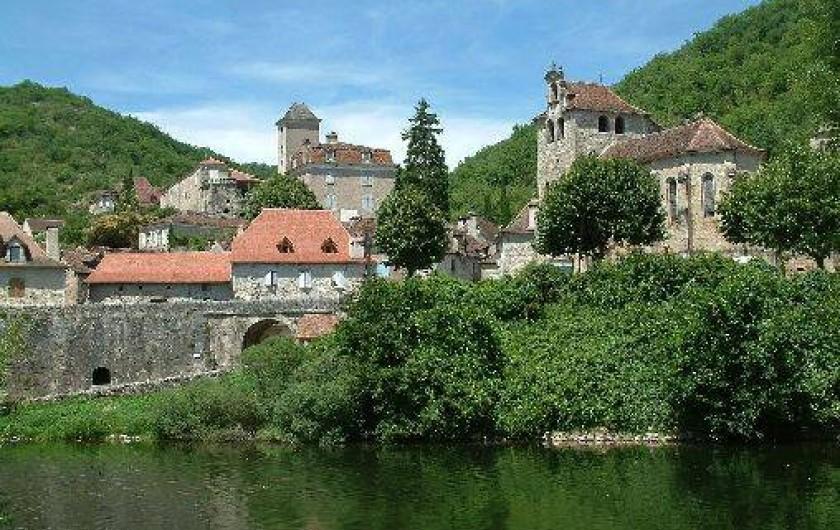 Location de vacances - Gîte à Saint-Maurice-en-Quercy - La Vallée du Lot