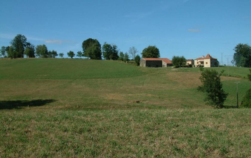 Location de vacances - Gîte à Saint-Maurice-en-Quercy - Le Sagnas