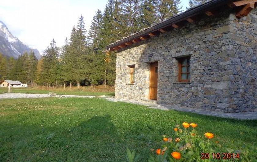 Location de vacances - Chalet à Courmayeur - L'extérieur du chalet