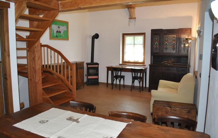 Location de vacances - Chalet à Courmayeur - Salle de séjour