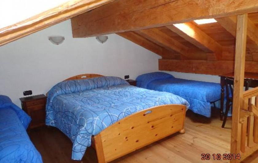 Location de vacances - Chalet à Courmayeur - la Chambre principalle