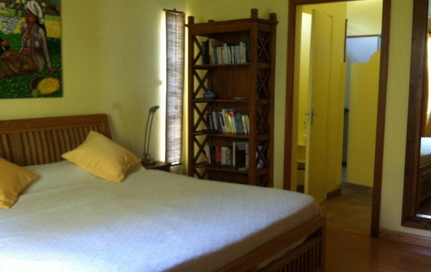 Location de vacances - Villa à Pereybere - La chambre principale