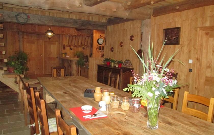Location de vacances - Chambre d'hôtes à Orconte - Salle à manger