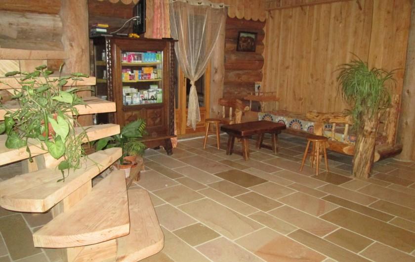 Location de vacances - Chambre d'hôtes à Orconte - Salon