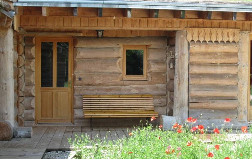 Location de vacances - Chambre d'hôtes à Orconte - Entrée