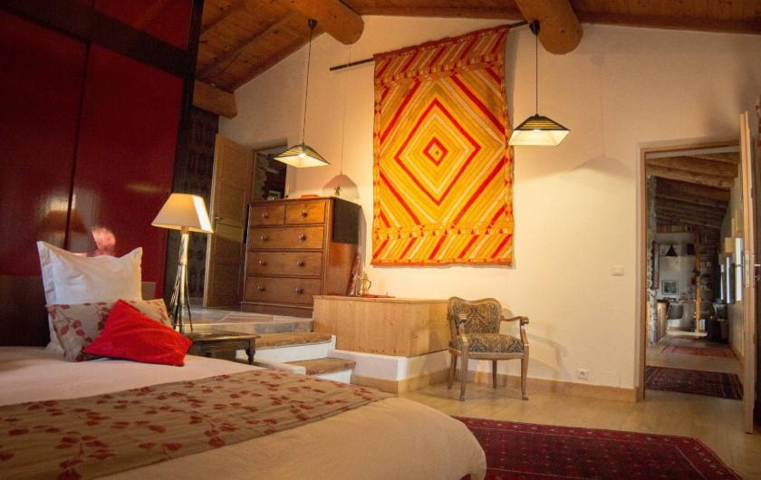 Location de vacances - Chambre d'hôtes à Rochessauve - La Suite Orientale