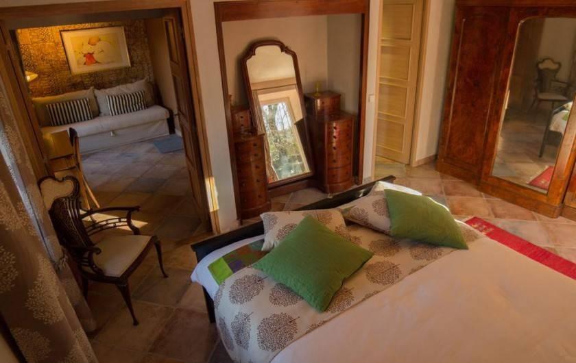 Location de vacances - Chambre d'hôtes à Rochessauve - La Suite Jardin