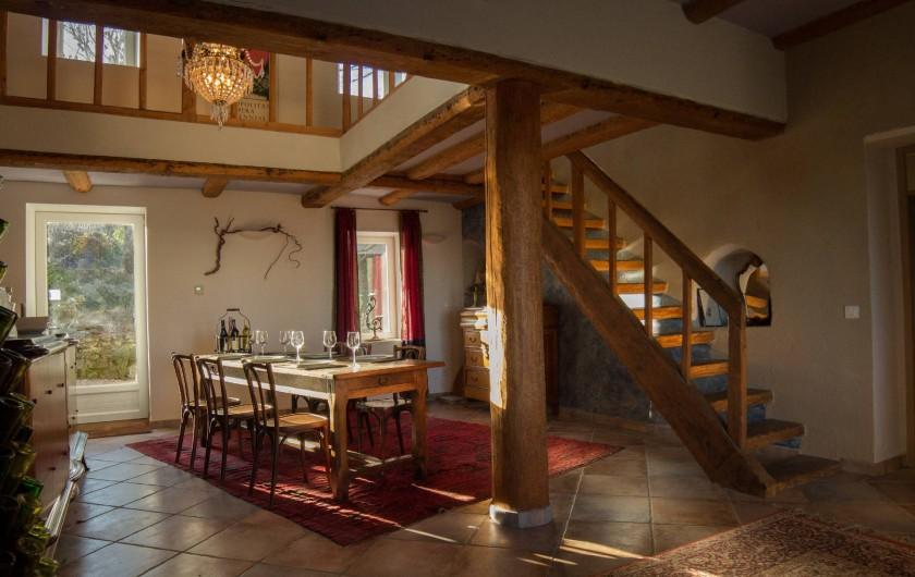 Location de vacances - Chambre d'hôtes à Rochessauve - Dinning area