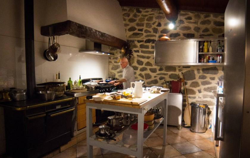 Location de vacances - Chambre d'hôtes à Rochessauve - Kitchen