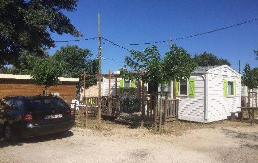 Location de vacances - Camping à Sorgues