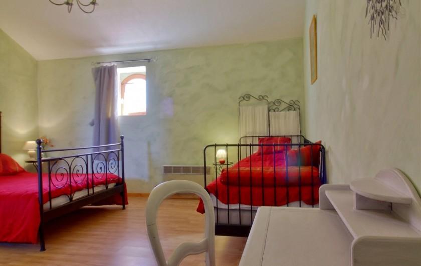 Location de vacances - Gîte à Labatut-Rivière - Chambre  Ayza