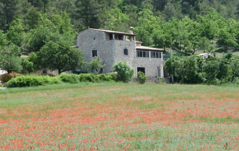 Location de vacances - Villa à Apt - Bastide du Rablassin