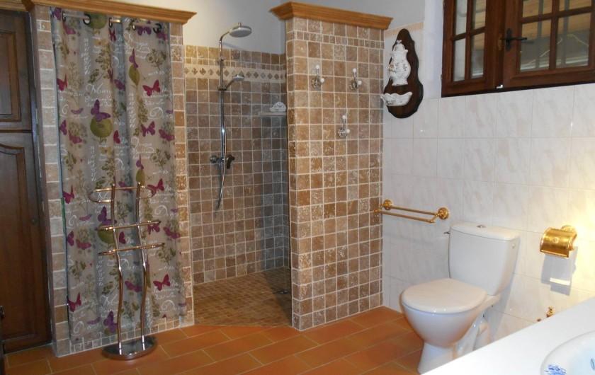Location de vacances - Villa à Apt - Salle de Bains avec douche à l'italienne