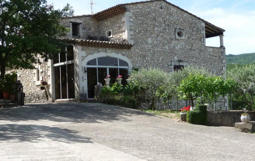 Location de vacances - Villa à Apt - Entrée